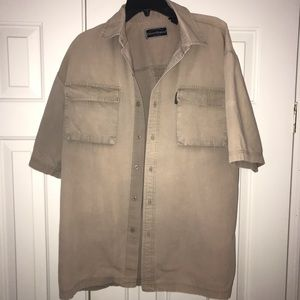 2/$12 Field and Stream Button Down Shirt Size L.